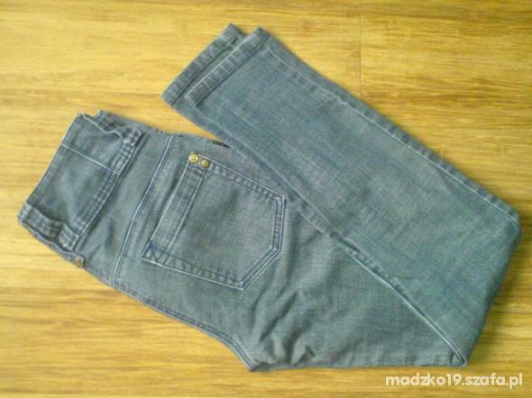 Spodnie TOTALNA WYPRZ spodnie wysoki stan TANIOOO