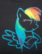 koszulka Rainbow dash DIY...
