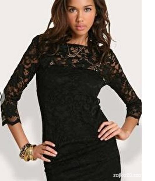 Suknie i sukienki czarna koronkowa sukienka