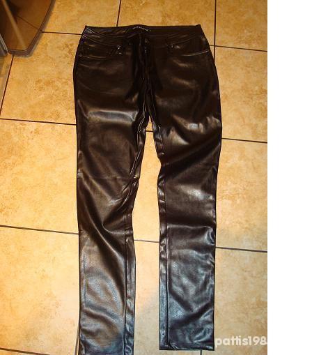 Spodnie Skórzane rurki Terranova rozmiar L