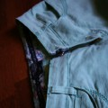 Miętowe jeansy Orsay