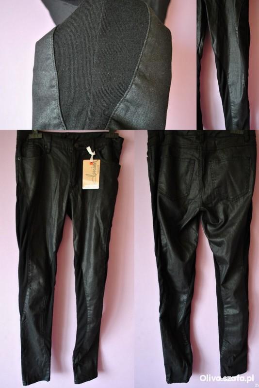 Spodnie a la skóra Legginso spodnie