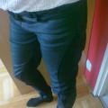 a la skóra Legginso spodnie