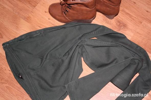 Spodnie Zielone H&M