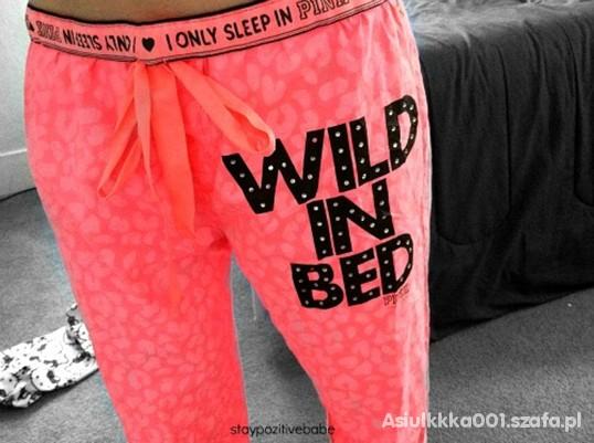 Spodnie meega neonki do spania