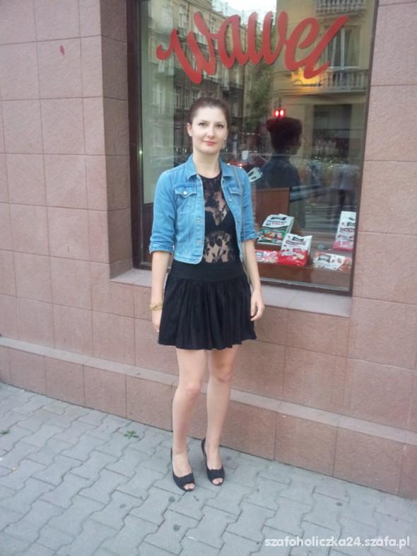 Mój styl koronka&jeans