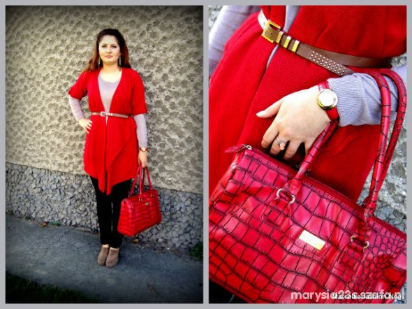 Mój styl czerwień i ja