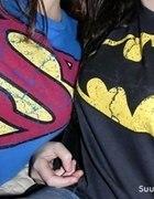 bluzka bluza superman batman...