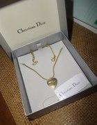 Złoty łańcuszek Dior
