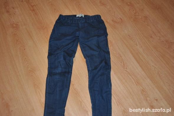 Spodnie Jeansy na gumce jegginsy S