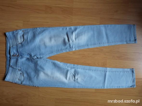 Spodnie Jasne jeansy