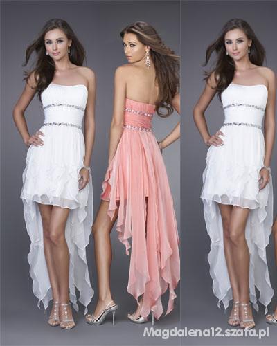 651dd4807b Super śliczna suknia na studniówkę wesele w Suknie i sukienki - Szafa.pl