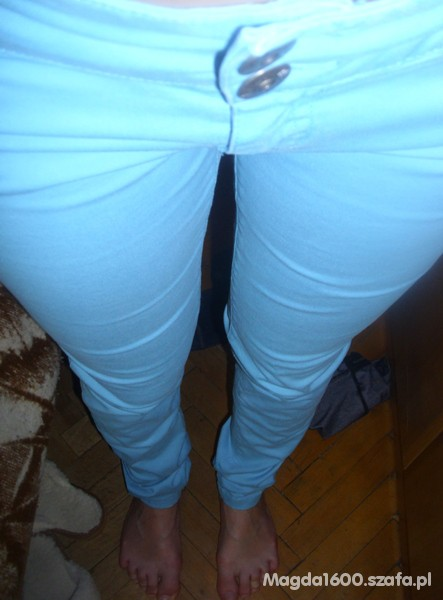 Spodnie BŁĘKITNE RURKI