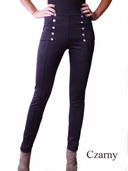 Spodnie spodnie guziki 2 kolory S M