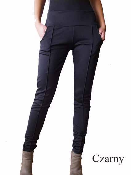 Spodnie spodnie z kantami S M 4 kolory