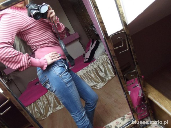 Spodnie Boskie rurki Redial S