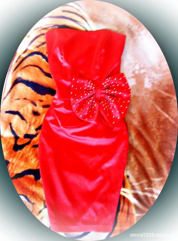 Suknie i sukienki Nowa mega seksi czerwona sukienka olowkowa