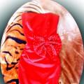 Nowa mega seksi czerwona sukienka olowkowa