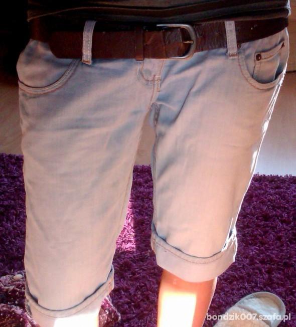Spodnie jeansowe do kolan AMISU