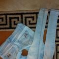 25zl z wysylka Mega rurki Jasny Jeans S
