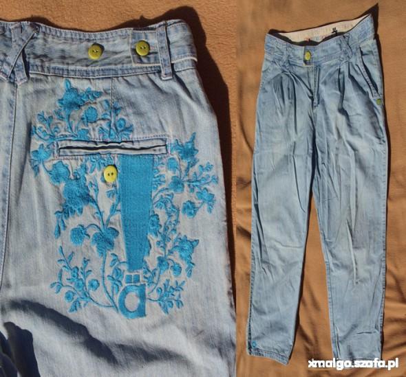 Spodnie emo skate rurki s m