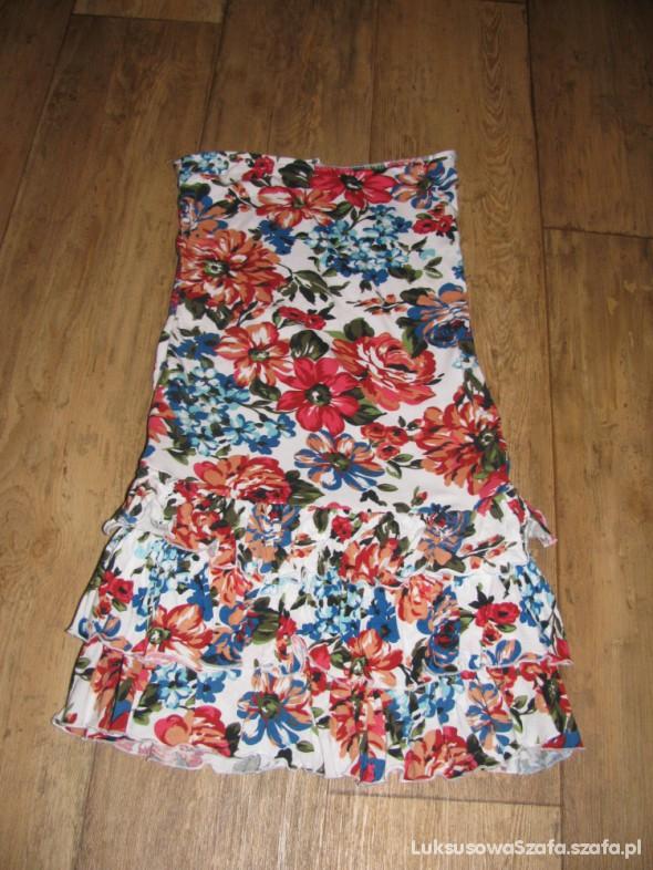 Kwiecista sukienka...