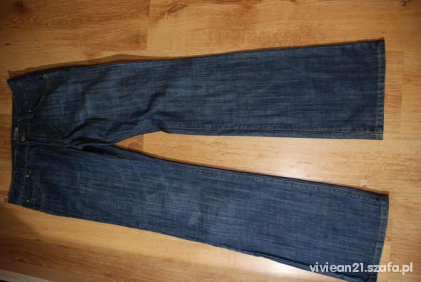 Spodnie JEANSY 30 32 40 PROSTA NOGAWKA
