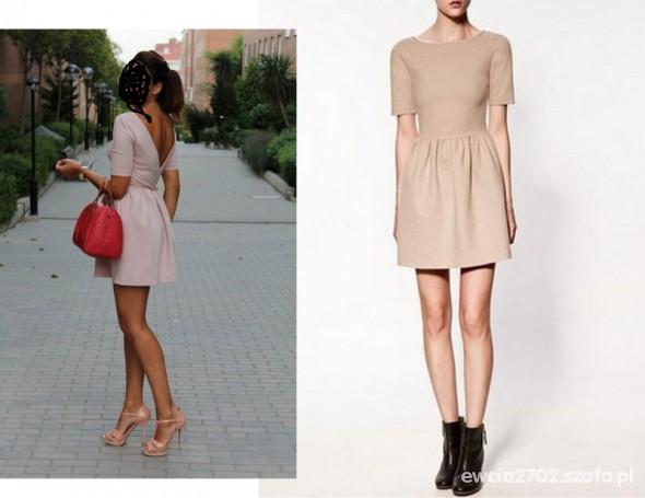 nowa sukienka ZARA XS S rozkloszowana w Suknie i sukienki