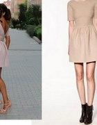 nowa sukienka ZARA XS S rozkloszowana