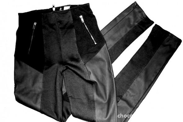 Spodnie Czarne spodnie H&M