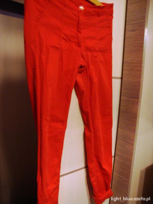 Spodnie CZERWONE RURKI H&M