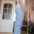 Spodnie baggy w groszki H&M rozmiar 38