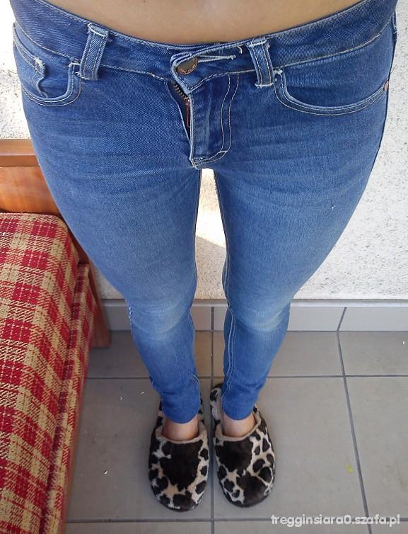 Spodnie gina tricot rurki