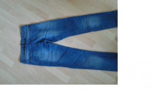 Spodnie Rurki dzinsowe
