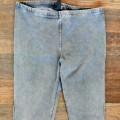 Szare spodnie dżeginsy hm TANIO