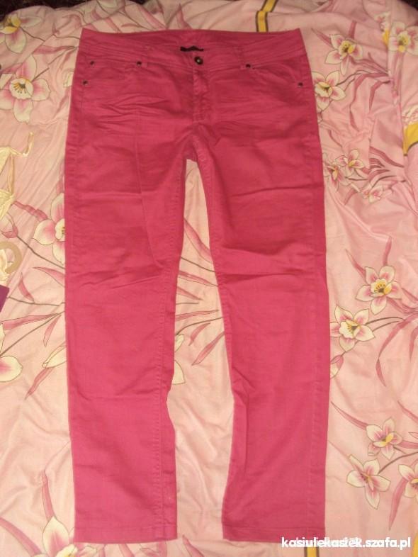 Spodnie Różowe jeansy rozmiar 44