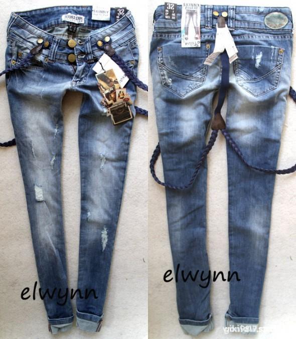 Spodnie rurki na szelki bershka