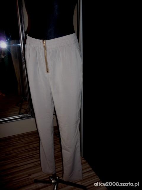 Spodnie CHINOSY Z ZIPEM