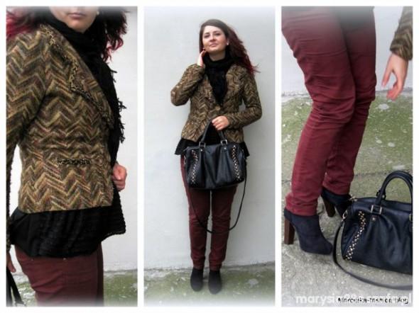Mój styl Żakiet DIY Marcelka Fashion