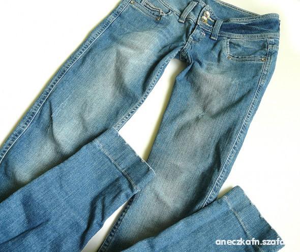 Spodnie Bershka Rurki Jeansowe 36 spodnie