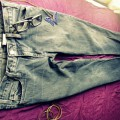 GAP Spodnie Skinny Stretch 38 jeans