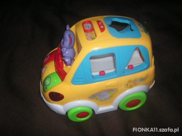 Zabawki auto z dźwiękiem iświatłami sorter vtech