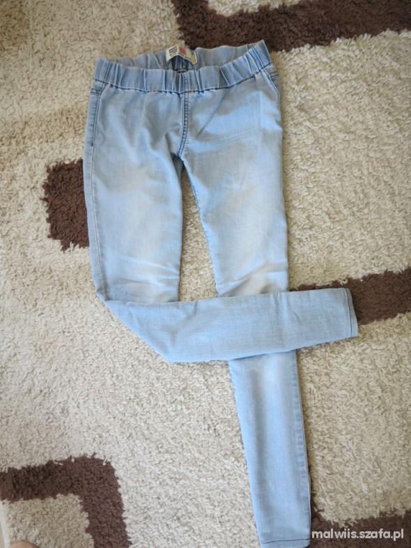 Spodnie tregginsy zara S