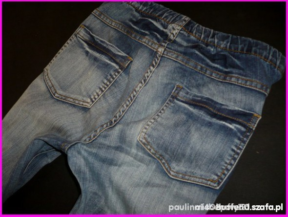 Spodnie Tregginsy kolor jasny jeans