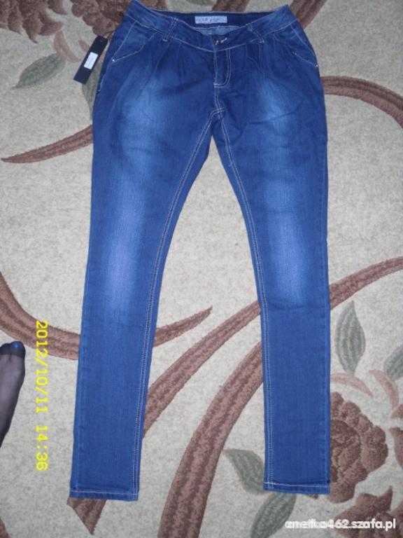 Spodnie Spodnie rurki haremki 38