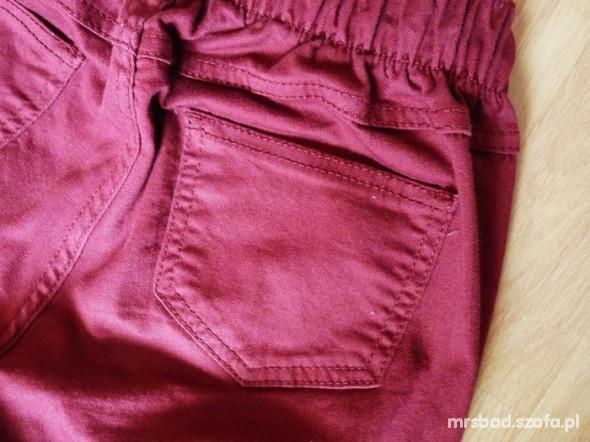 Spodnie Bordowe tregginsy