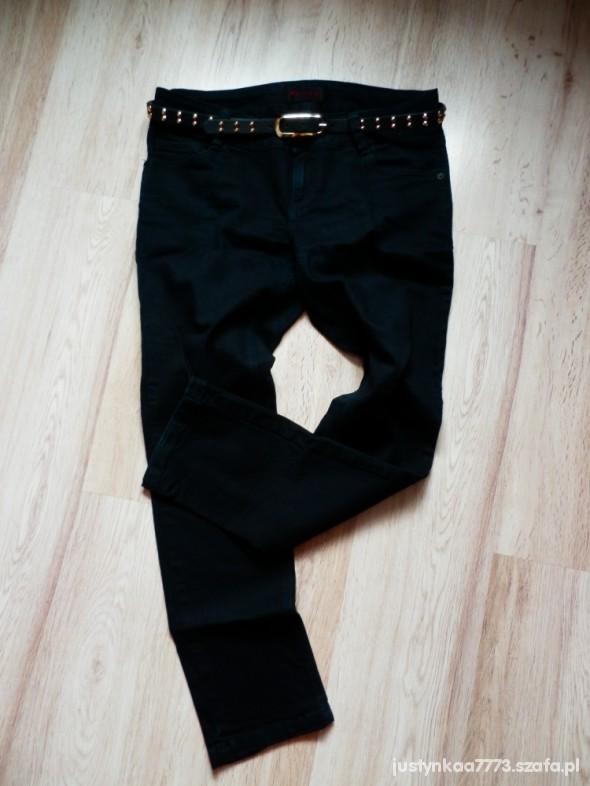 Spodnie czarne rurki miss selfridge