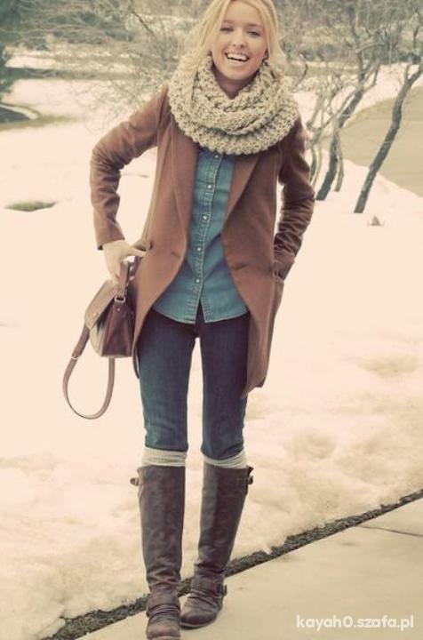 Do szkoły stylizacja zimowa