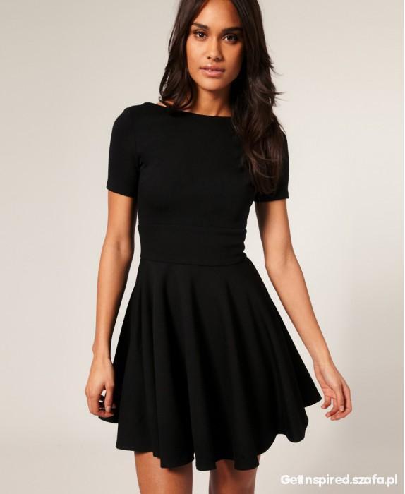 Suknie i sukienki Sukienka ala ASOS rozmiar 36 pięknie rozkloszowana