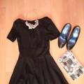 Sukienka ala ASOS rozmiar 36 pięknie rozkloszowana